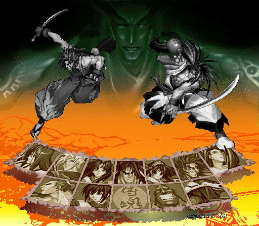 Samurai Shodown 64 + Samurai Spirits 64 - Character Select  -  - User Screenshot